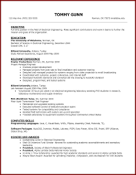 Resume Format Pdf For Electrical Engineer by Sample Of Resume For Abroad Free Resume Example And Writing Download