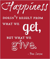happiness from giving how do you raise giving children quote