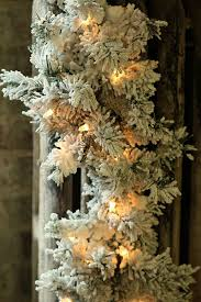 check out the deal on 6 foot flocked pre lit garland 35 white