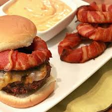 red onion rings images Bacon wrapped onion rings basilmomma jpg