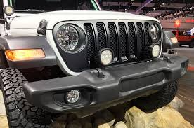 texas jeep grill mopar factory customized 2018 jeep wranglers at la auto show photo