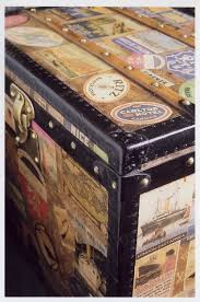 travel trunks images 49 travel trunk luggage faux vellum leather steamer travel trunk jpg