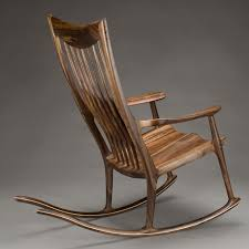 Rocking Chair Classic Maloof Style Rocking Chair By Morrison Woodworker