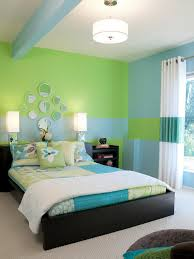 best bedroom design for teenage with cool bright purple color
