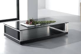 white and black coffee table modern coffee table elegant black modern coffee table decoration mid