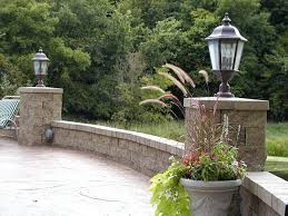 Patio String Lights by Good Outdoor Post Lights For Security Solar Powered Patio Post