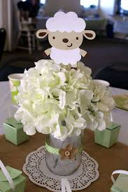 sheep baby shower baby shower decorations sheep baby shower party