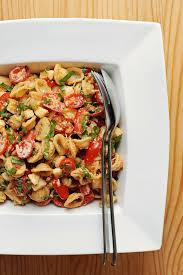 sun dried tomato pasta salad popsugar food