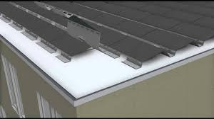 flat roof soltecture flatroof solar mounting system self ballasted youtube