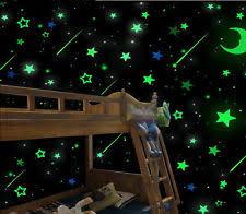 glow in the dark bedroom 200pcs glow in the dark 3d stars stickers luminous bedroom home