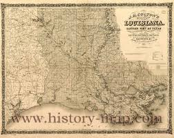 State Map Of Louisiana by Map Of Louisiana