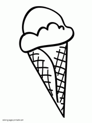 coloring pages ice cream cone 64 ice cream coloring pages