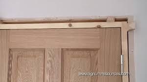 slab interior doors backyards how install prehung doorset maxresdefault to new