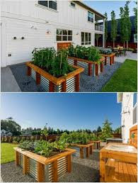 Corrugated Metal Planters by 13 Cool Long Planter Ideas For Keen Gardeners