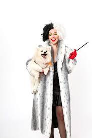 Fur Halloween Costumes Halloween Costume Idea Cruella Vil Costume 101 Dalmatians