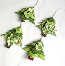 fresh easy origami christmas decorations 13 with additional house