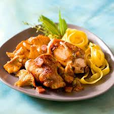 lapin a cuisiner lapin aux girolles recette lapin cuisiner et viande