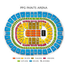 ppg paints arena concerts seating for live music in pittsburgh