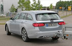mercedes towing mercedes e class all terrain spied testing its towing