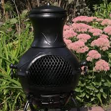 Cast Iron Outdoor Fireplace by Chiminea Etruscan Style Cast Aluminum Outdoor Fireplace