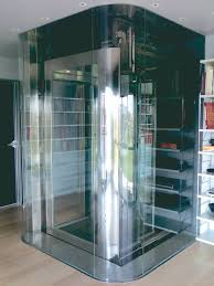 Houses With Elevators Domestic Lift With A Glass Cabin Http Acelifts Com Platform