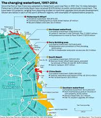 San Francisco Pier Map by Port Time For A New View Of The S F Waterfront U0027s Future Sfgate