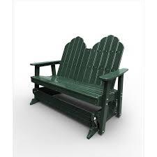 Gliding Adirondack Chairs Malibu Outdoor Recycled Plastic Yarmouth Glider Chair Rocking