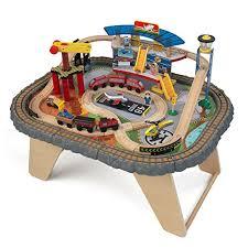 Imaginarium Mountain Rock Train Table Train Sets For Kids Toy Train Center