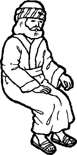 staying zacchaeus jesus coloring page wecoloringpage
