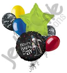 the hill balloon grim reaper the hill happy birthday balloon bouquet