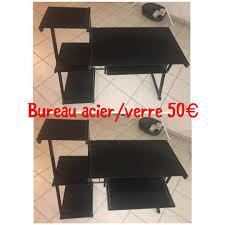 bureau en acier bureau en acier et verre annonce meubles et décoration fort de