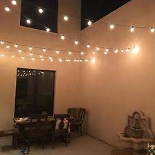 Edison Bulb String Lights G40 String Lights Ebay