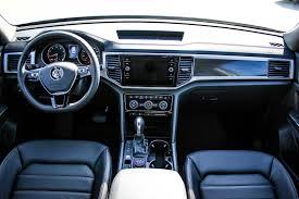 volkswagen atlas interior seating 2018 volkswagen atlas highline awd w leather sunroof app connect