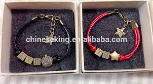 diy letter beads woven bracelet alphabet initial letter beads hand