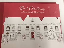 first christmas in your lovely new home christmas card