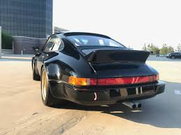 widebody porsche 911 bangshift com this 1984 porsche 911 carrera wide body rs tribute
