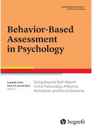 vol 1 behavior based assessment in psychology by hogrefe issuu