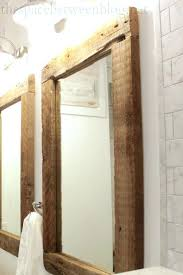 cherry bathroom mirror cherry mirrors bathroom northlight co