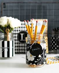 Desk Organizing Ideas Jar Desk Organizers It All Started With Paint