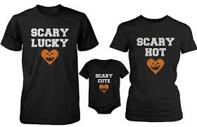 com scary cool family halloween shirt and onesie matching set for