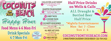 Cocoa Beach Map Space Coast Coupons Online Coupons Restaurant Coupons Cocoa Beach
