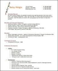 Best Resume Format For Teachers by Sample Templates For Teacher Resume 062 Http Topresume Info