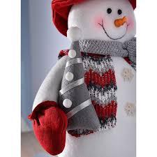vw snowman werchristmas snowman with extendable legs christmas decorations