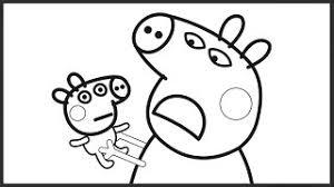 download video coloring kids peppa pig cartoon peppa