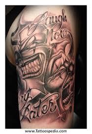 50 jester designs for entertainer ink ideas grey ink evil jester