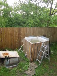 how to build a wood fired tub 17 steps with pictures