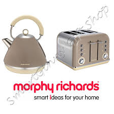 Morphy Richards Kettle And Toaster Set Morphy Richards Accents Barley Beige Stainless Steel Kettle 4