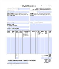 commercial invoices for exporting templates export invoice template export invoice template 21 commercial