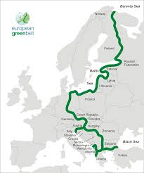 Barents Sea Map The European Green Belt Follows The Corridor Of The Former Iron