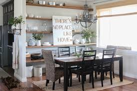 Cottage Dining Room Ideas by Summer Home Tour The Wood Grain Cottage